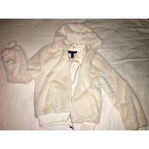 Forever 21 faux fur jacket